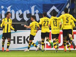 Jubel in Gelb