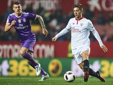 Toni Kroos (li.) und Real Madrid stehen im Pokal-Viertelfinale
