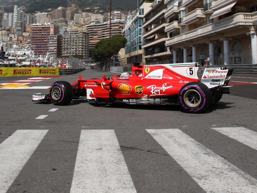 Sebastian Vettel fährt am Donnerstag neuen Streckenrekord in Monaco