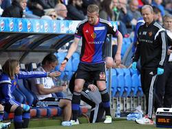 Das Spiel gegen Zürich endete für Janko schmerzhaft