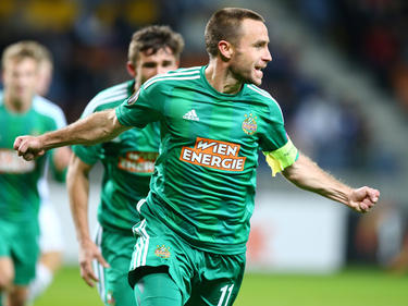 Rapid-Kapitän Steffen Hofmann war der Matchwinner