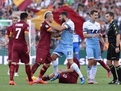 Ein Derby mit Zündstoff: Die Roma gegen Lazio