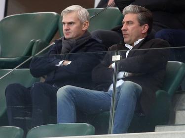Jacek Magiera (l.) wird neuer Trainer bei Legia