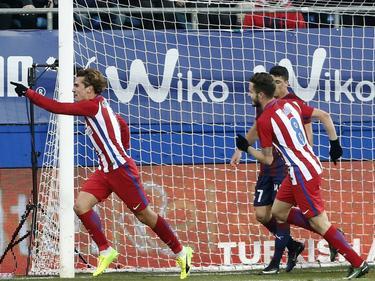 Torfluch beendet: Antoine Griezmann (l.) trifft endlich wieder in der Liga
