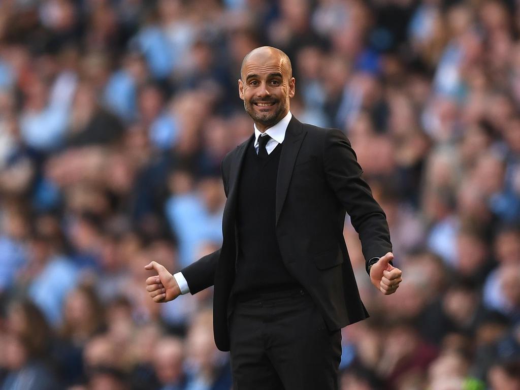 El entrenador del Manchester City, Pep Guardiola. (Foto: Getty)