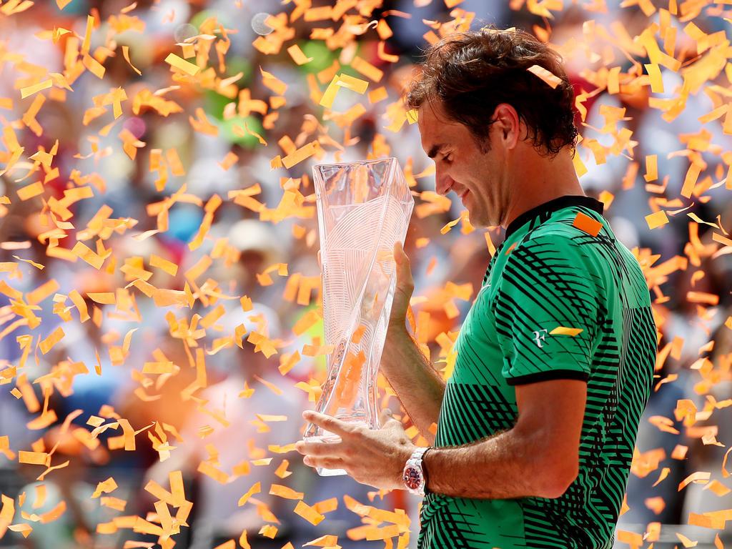 Platz 3 (-): Roger Federer - 7145 Punkte