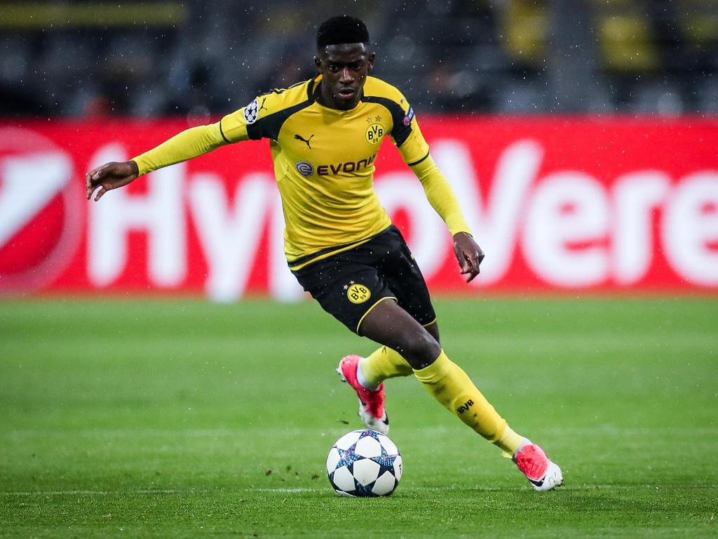 Ousmane Dembélé soll das Interesse von Manchester United geweckt haben