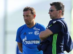 Markus Weinzierl und Christian Heidel haben eine enttäuschende Saison hinter sich