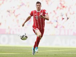 Robert Lewandowski spielt seit 2014 für den FC Bayern