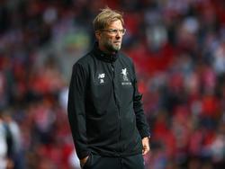 Jürgen Klopp muss mit Liverpool gegen Leicester City liefern