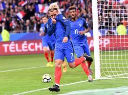 Antoine Griezmann traf zur Führung für Les Bleus