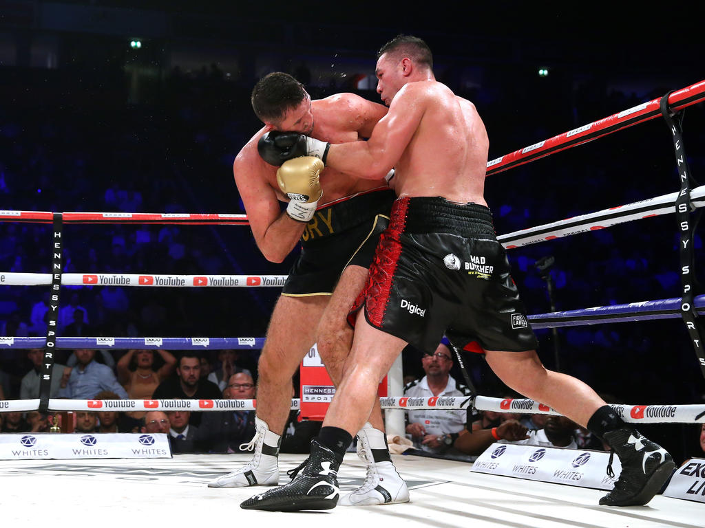 Joseph Parker (r.) gewann zuletzt gegen Tyson Furys Cousin Hughie