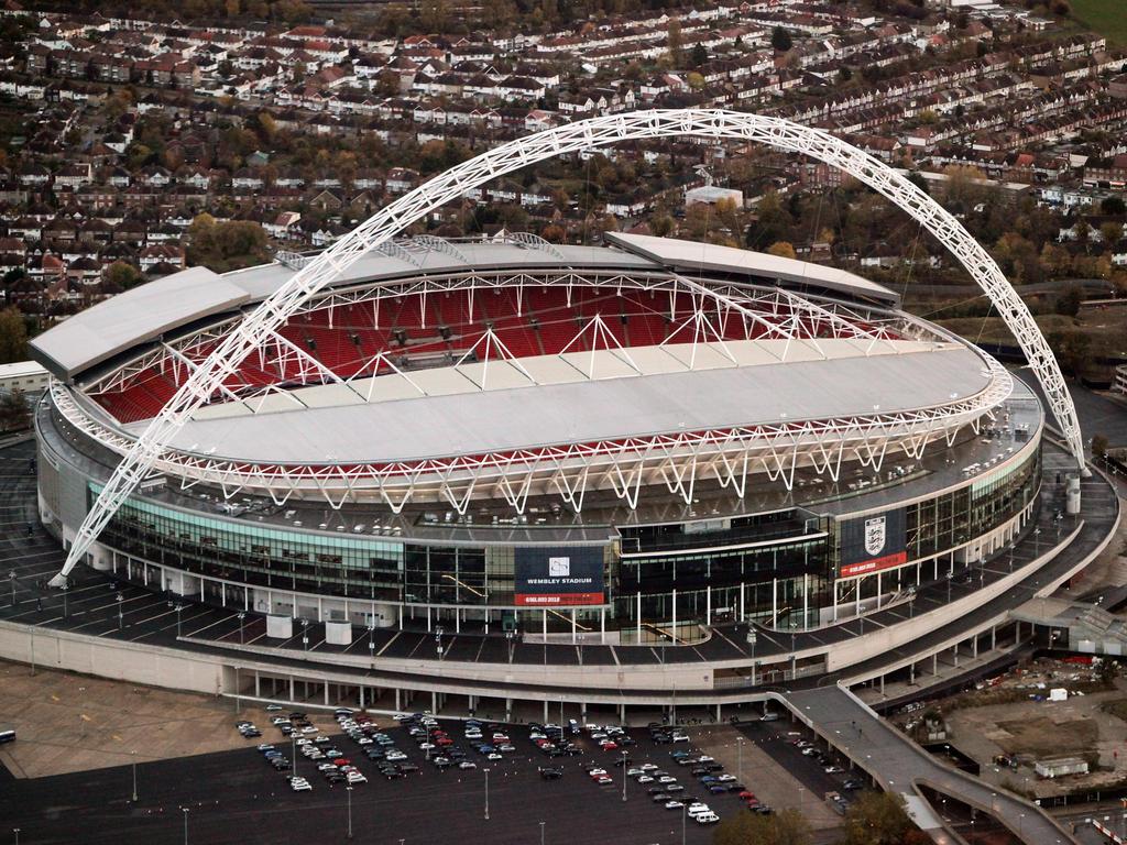 Neue Heimat: Die Spurs ziehen offenbar vorübergehend ins Wembley-Stadion