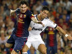 Messi und Ronaldo sind seit Jahren die Hauptdarsteller auf der europäischen Fußballbühne