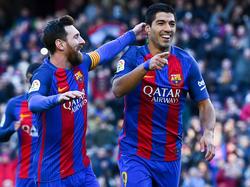 Messi und Suárez durften jubeln