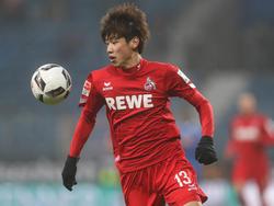 Yuya Osako ist einer der Leistungsträger beim 1. FC Köln