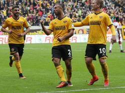 Dynamo Dresden unterstützt den FSV Zwickau