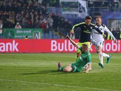 Mesut Özil erzielte das 3:2-Siegtor gegen Razgrad