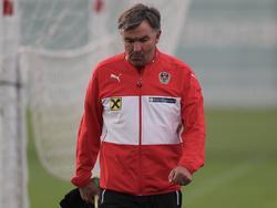 Sportdirektor Willi Ruttensteiner steht beim ÖFB-Team vor dem Aus