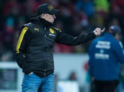 Peter Stöger steht vor seinem ersten Heimspiel als BVB-Coach