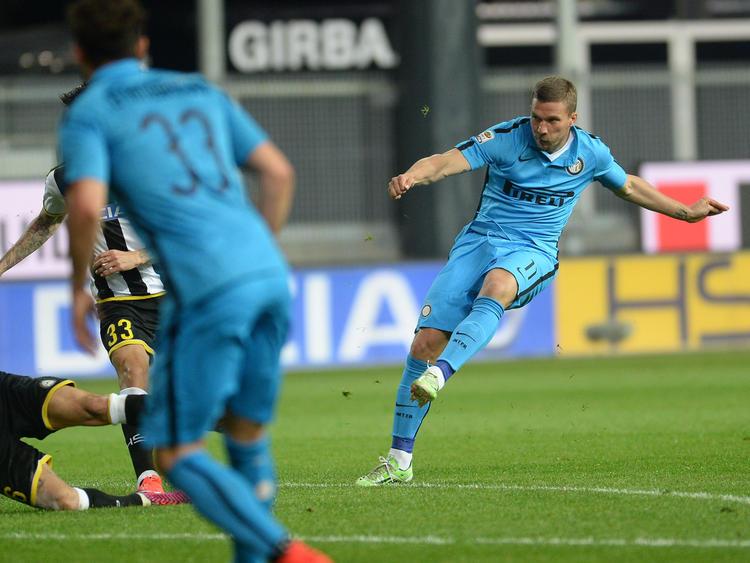 Lukas Podolski (r.) wechselt zu Galatasaray