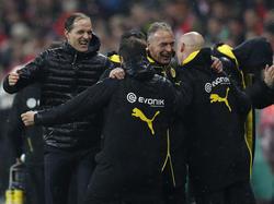 Dortmunds Trainer Thomas Tuchel will mit seinem Team in die Champions League