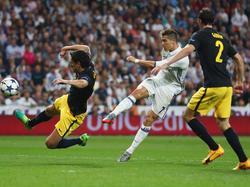 Cristiano Ronaldo stand einmal mehr im Mittelpunkt