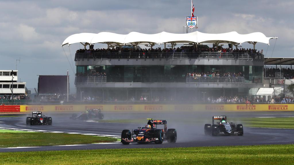 Silverstone Circuit, England