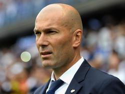 Zidane en un encuentro de la pasada temporada. (Foto: Getty)