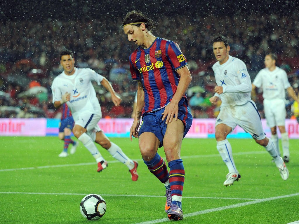 17. Platz: Zlatan Ibrahimović (FC Barcelona) - Gewinn: 44,70 Mio.
