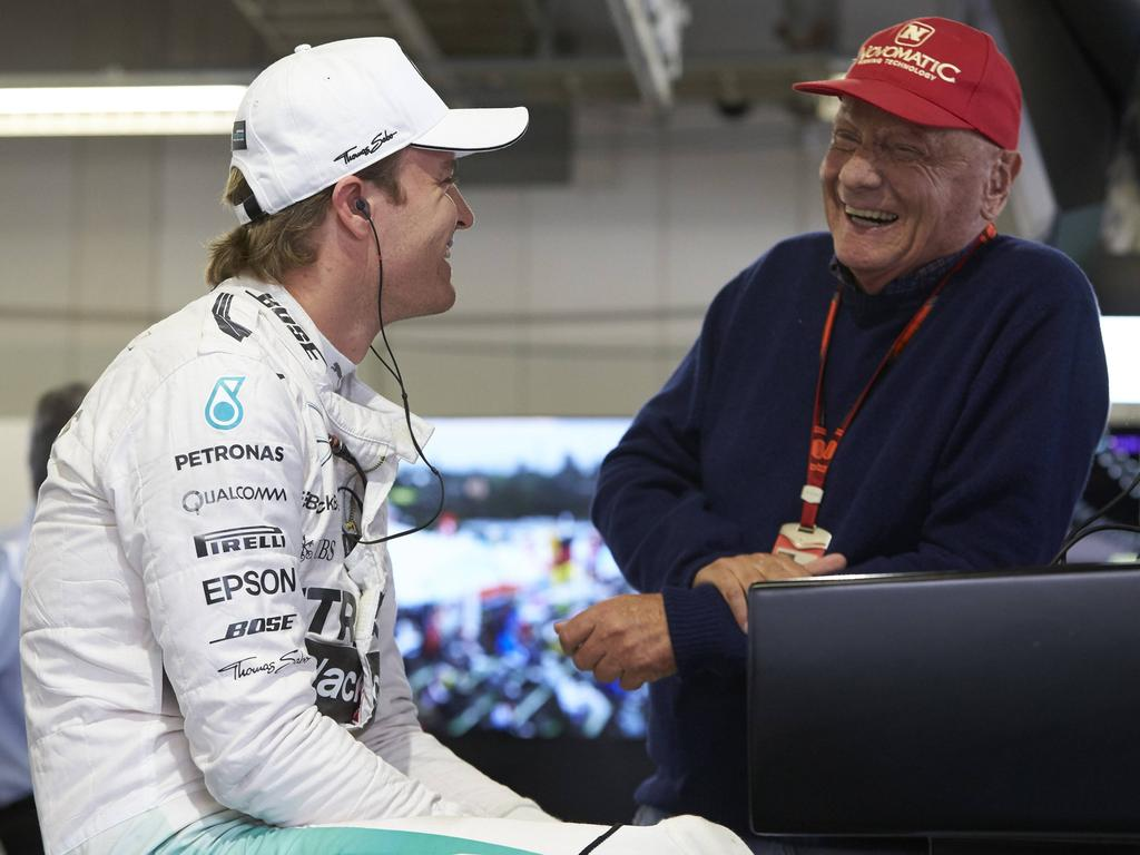 Niki Lauda kam bei Nico Rosberg offenbar öfters zum Eisessen vorbei...