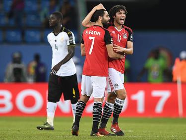 Ägypten bejubelt den Sieg gegen Ghana