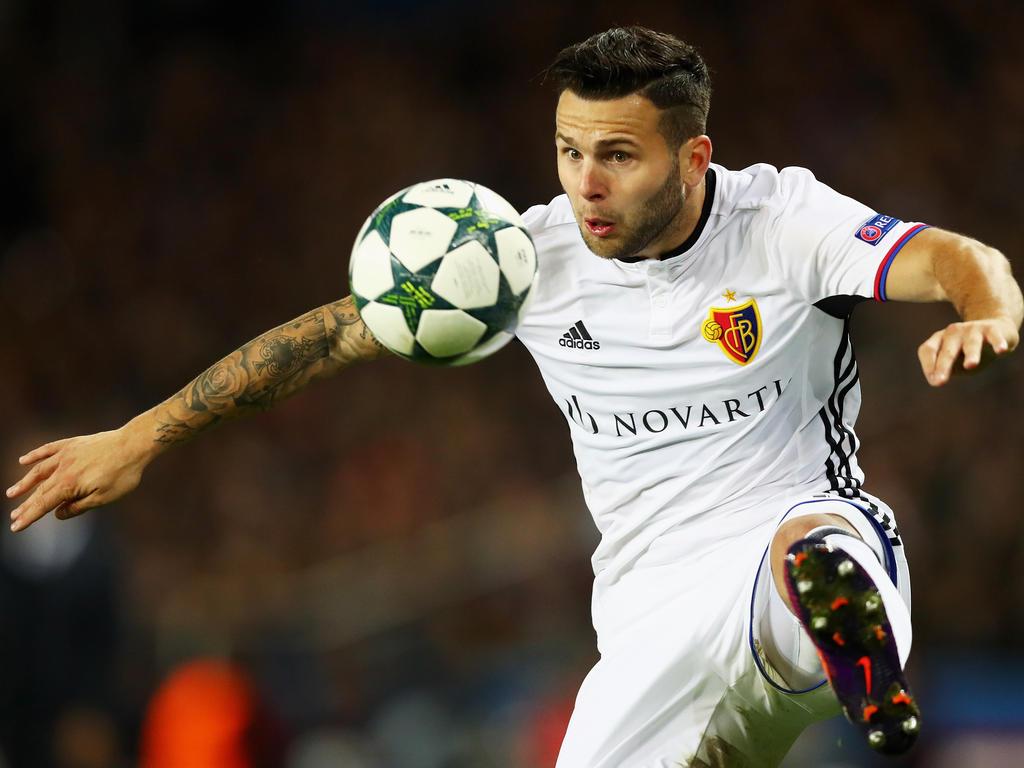 Renato Steffen erzielte einen Treffer beim Meister-Sieg des FC Basel