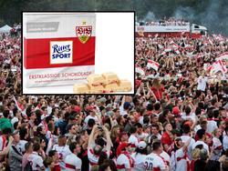 Ritter Sport hat eine Sonderedition für den VfB veröffentlicht