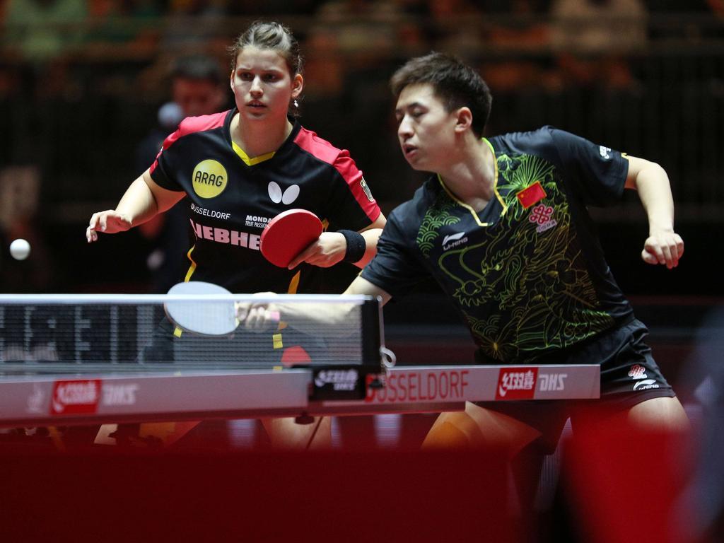 Drei deutsche Tischtennis-Damen erreichen zweite WM-Runde