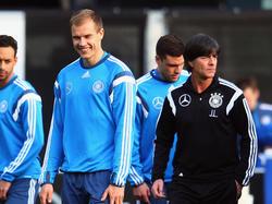 Holger Badstuber (l.) glaubt fest an ein Comeback im DFB-Team