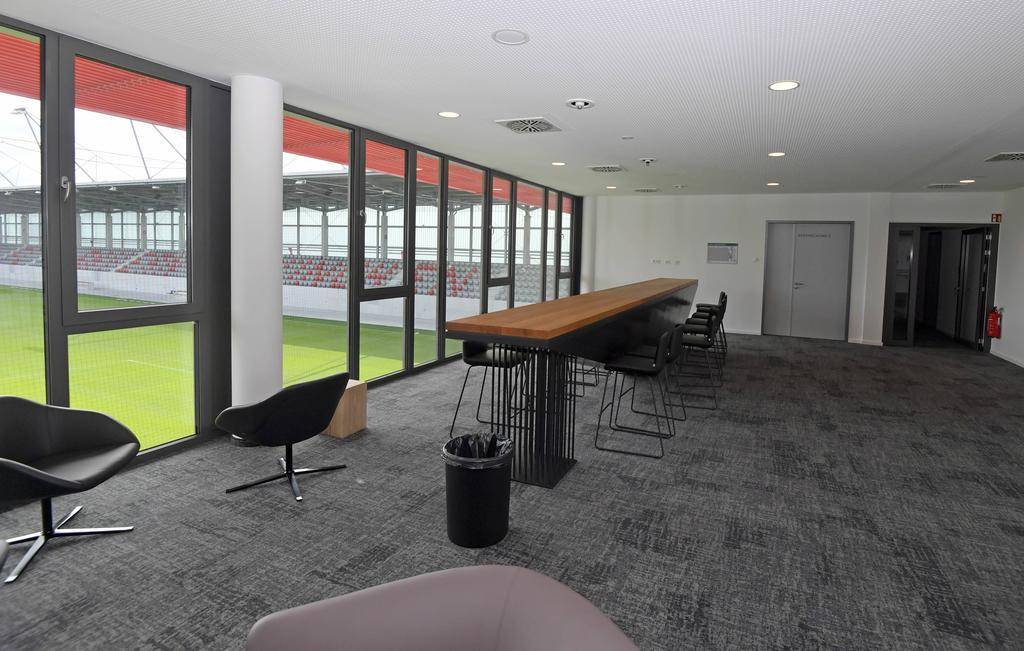 Lounge im neuen Stadion