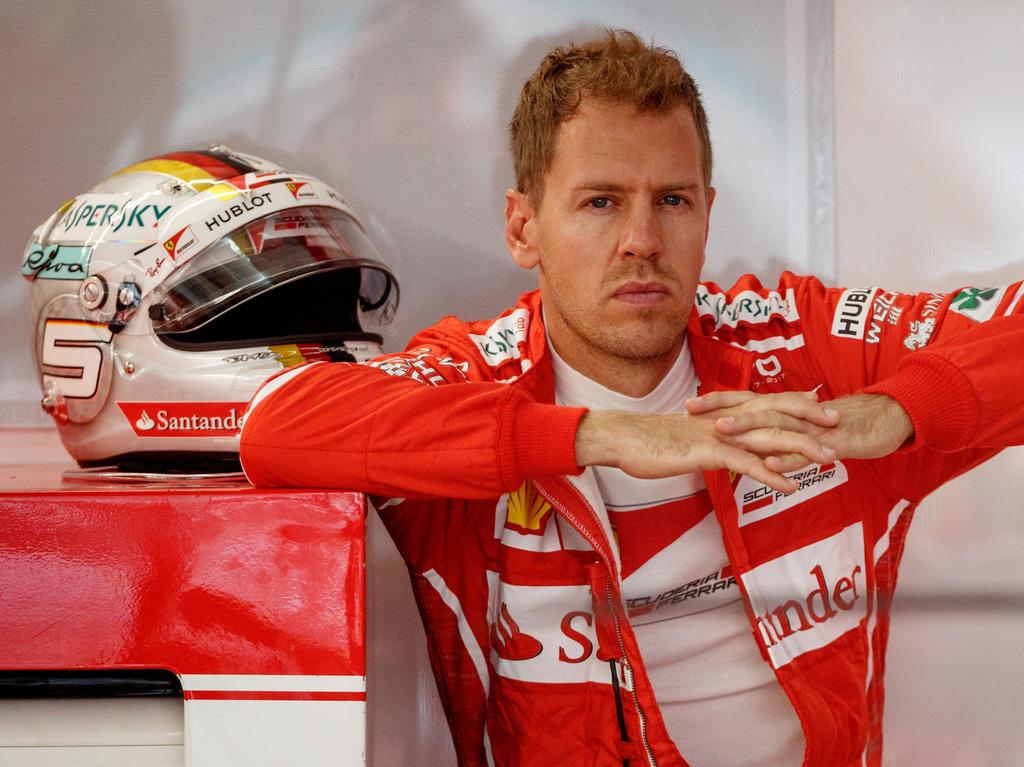 Sebastian Vettel hofft auf die Pole Position in Sepang