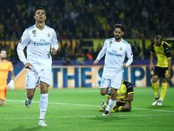 Real Madrid setzt sich klar bei Borussia Dortmund durch