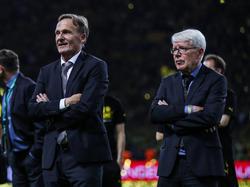 Rauball (r.) stärkt Watzke den Rücken bei Borussia Dortmund