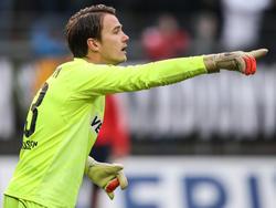 SV-Sandhausen-Keeper Manuel Riemann wird den Verein verlassen