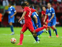 Carlos Bacca war im Europa-League-Finale an allen drei Toren beteiligt