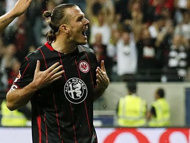 Alexander Meier erzielte im Hinspiel drei Treffer