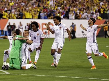 Kolumbien feiert den Aufstieg und Keeper David Ospina