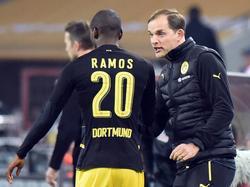 BVB-Coach Tuchel (r.) bedauert den Abgang von Ramos