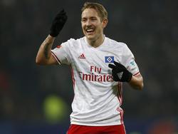 HSV-Profi Lewis Holtby ist zuversichtlich für das neue Bundesliga-Jahr
