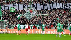 Banner der Werder-Fans