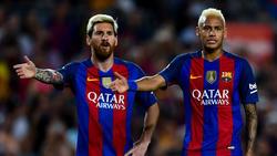 Messi y Neymar son los jugadores de más fantasía en el Barça. (Foto: Getty)