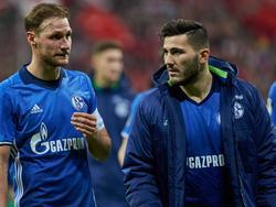 Benedikt Höwedes und Sead Kolašinac sind gegen Darmstadt fraglich