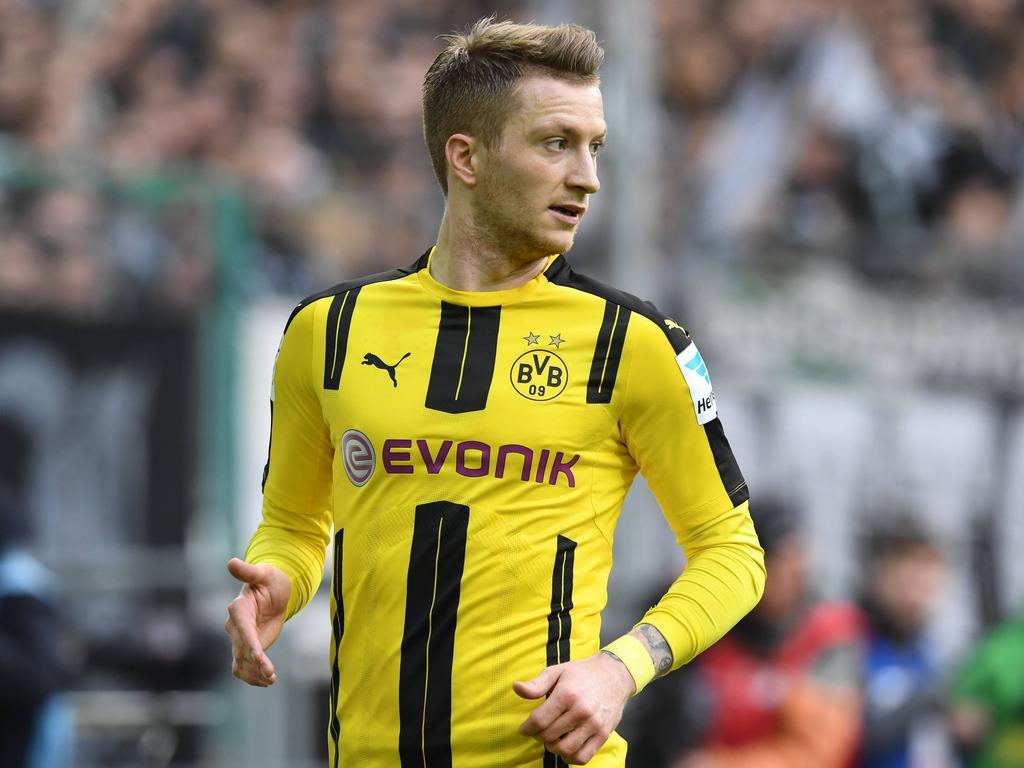 Marco Reus geht optimistisch ins Pokal-Halbfinale gegen die Bayern